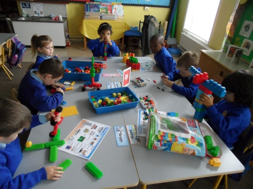 Aistear in Action in Room 7